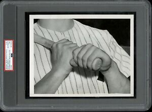 Mickey Mantle 1951 Rookie Opening Day Type 1 Original Photo PSA/DNA **Hands**