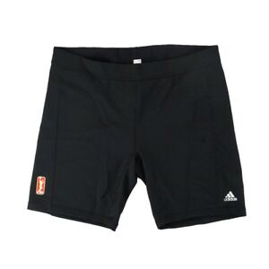 "Adidas WNBA Official TechFit Performance 7"" Training Black Short Tight Women's"