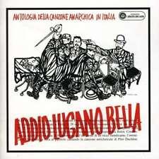 Addio Lugano Bella Antologia Della Canzone Anarchica Italiana Giovanna Marini CD