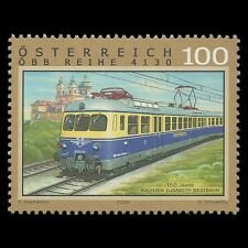 Austria 2008 - Empress Elizabeth Western Railway Train Railways - Sc 2171 MNH