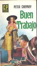 BUEN TRABAJO PETER CHEYNEY AÑO 1959 GP POLICIACA 101   TC12035 A6C2