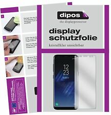 2x Samsung Galaxy S8 Plus Protector de Pantalla protectores transparente dipos
