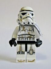 Genuine Lego SANDTROOPER Minifigure from 9490 with WHITE PAULDRON