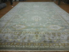 Super Turkish Vg Dy Oushak Chobi Heriz Serapi Tabrizz 12x18 Contemporary Rug