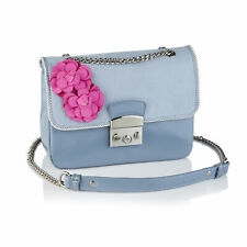 Ruby Shoo Sky Blue Salvador Shoulder Satchel Bag