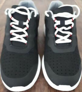 CLARKS  TORSET VIBE  CLOUD STEEPERS   TRAINERS BLACK   SIZE 9.5