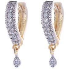 Heart shape Daily wear Cz AD Stone Hoop Style Earring for Kids Teen Women