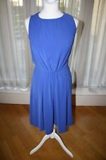 Ladies St John clothing blue shift dress - Size 2 US