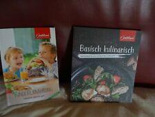 2x Jentschura Basisch kulinarisch & Kinder Ernährung natürlich, basisch, gut