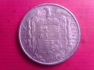 SPAIN    10  CENTS   1953      FEB20