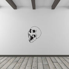 Skull Is Hungry Vinyl Wall Art Decal for Home Decor / Interior Design / Bedro...