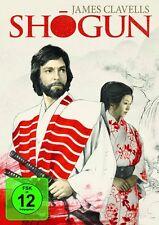 Shogun James Clavell RICHARD CHAMBERLAIN COMPLETO SERIE DE TV 5 Caja de DVD