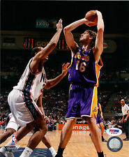 Pau Gasol los Ángeles Lakers Firmado 8X10 Foto PSA/DNA Coa