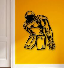 Wall Stickers Vinyl Decal Sports American Football Player for Fans Gym (ig590)