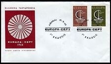 Greece. Europa Cept Year : 1966, Ships - Greek Fdc