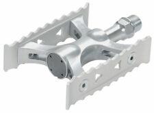 MKS Touring Lite Pedals 9/16Toe Clip Compatible Alloy Silver