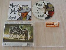 CD ALBUM  DEHORS - MANO SOLO  13 TITRES 2000