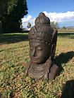 Balinese Garden Statue - Ciwa head - Bali