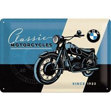 BMW Classic Motorcycles Embossed Vintage Retro Metal Sign Garage Home Wall Decor