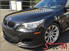 HM Style Carbon Fiber Front Bumper Add on Lip For BMW E60 M5 2004-2010