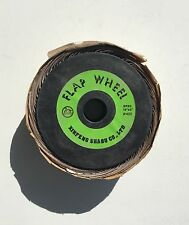 "Flap sanding Abrasive Grinding wheel 10"" x 2"" x 1"" 400 Grit Striping Polisher"