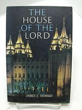 THE HOUSE OF THE LORD Color Photos Inside the Mormon LDS Temple RARE COLLECTABE
