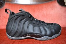 668d63753eb CLEAN NIKE AIR FOAMPOSITE ONE MATTE BLACK Size 9.5 314996-010 2012 STEALTH