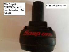 Rebuild / Rebuilt Battery service for Snap-On CTB2512 12 V 2100 mAh NiMh