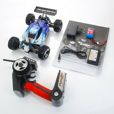 New Wltoys A959 2.4G 1/18 Vortex 4WD Electric RC Car Off-Road Buggy RTR Blue