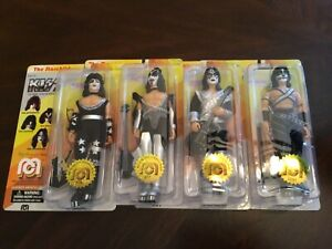 """Mego KISS 8"""" Figure Full Set Of 4 Limited Edition"""