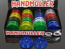 16p 2 Layers Multicolor Plastic Manual Spice Tobacco Herbal Crusher Grinder N114