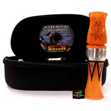 ZINK CALLS MONEY MAKER ORANGE MARBLEADE ACRYLIC COMPETETION CANADA GOOSE CALL