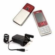 Teléfonos móviles libres rojos Nokia