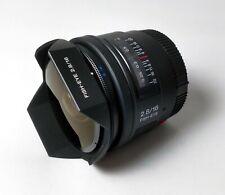 Sony sal-16f28 Obiettivo Fisheye 16mm f2, 8 A-Mount pieno formato a99 a77 a68 serie