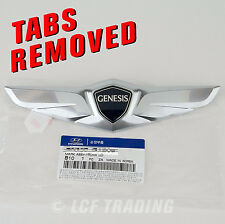 2015 Hyundai Genesis Sedan OEM Trunk Wing Emblem *** with TABS REMOVED ***