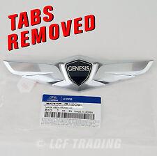 2015 2016 Hyundai Genesis Sedan OEM Trunk Wing Emblem *** with TABS REMOVED ***