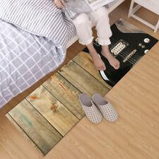 Cowboy Retro Guitar Home Area Rug Bedroom Living Room Kitchen Rug Floor Carpet