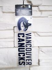 Vancouver Canucks Aufkleber 23cm Logo Decal Badge Emblem NHL Eishockey