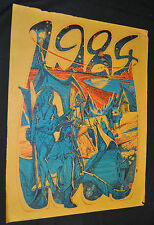 1984 Psychedelic Poster Bindweed - S.F. Pentagonal Dodecahedron (1967) ITB WH