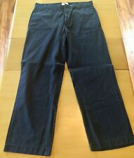 Gap Mens Navy Dress Striped Pants Size 36x32 EUC