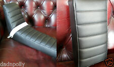 RALEIGH CHOPPER REPRODUCTION SEAT COVER & HBR SISSY PAD SET - COVER & HBR PAD