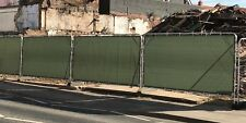More details for heras fence covers, fence tarpaulins,  temporary fence cover,