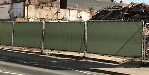 Heras Fence covers, Fence Tarpaulins,  Temporary Fence Cover,