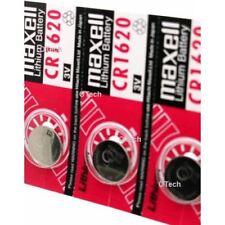 5pcs Maxell CR1620 3V Lithium Cell Battery