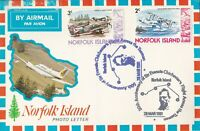 AFC251) AUSTRALIA 1981 1ST FLT.CVR.- NORFOLK ISLAND LOCAL FLIGHT-AAMC 1905