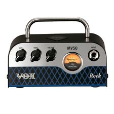 Brand New Vox MV50 Rock 50W Miniature Hybrid Tube Amp Head
