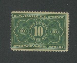 1913 United States Parcel Post Postage Due Stamp #JQ4 Mint Average Disturbed OG