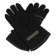 STOVAX HEAT RESISTANT LEATHER STOVE GLOVES PAIR