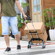New Transport Trolley Foldable Luggage Stair Climbing Hand Truck Telescoping