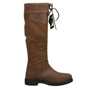 B&A Gemma Ladies Walking Long Tall Country Hacking Womens Long Riding Boots NEW